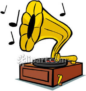 Phonograph clipart » Clipart Station.