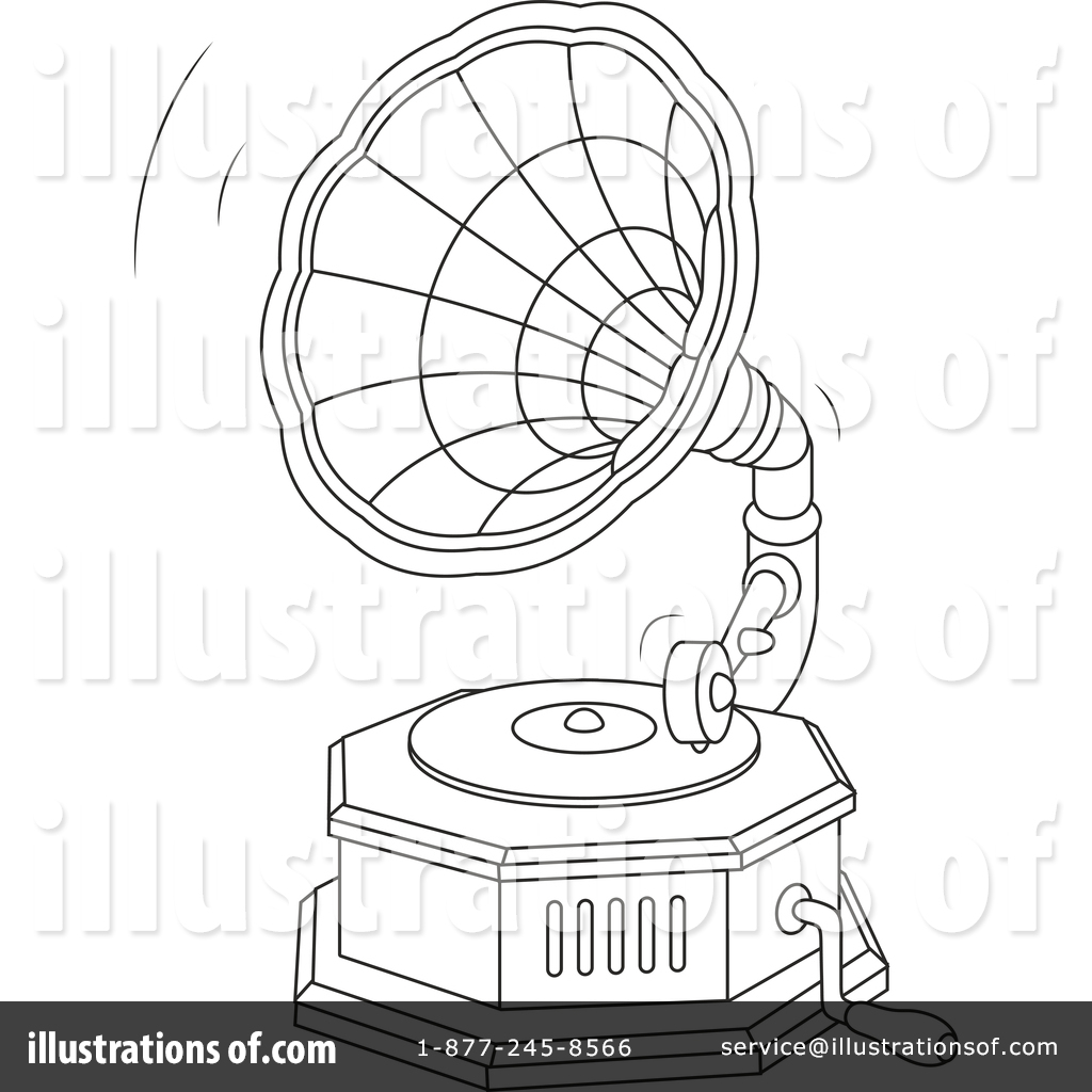Phonograph Clipart #1455630.
