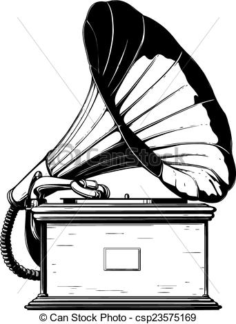 Phonograph clipart 4 » Clipart Station.