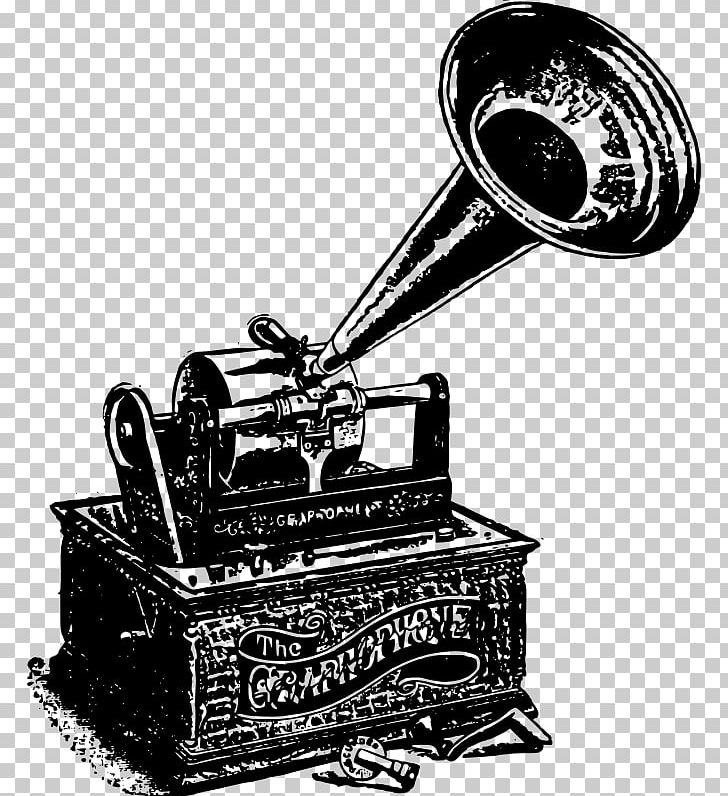 Black And White Phonograph Record PNG, Clipart, Black And.
