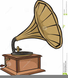 Edison Phonograph Clipart.