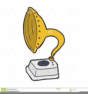 Clipart Phonograph Record.