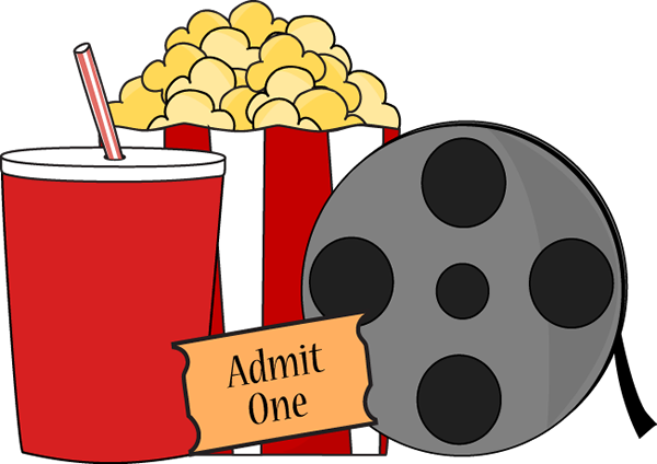 Movies clip art clipart images gallery for free download.