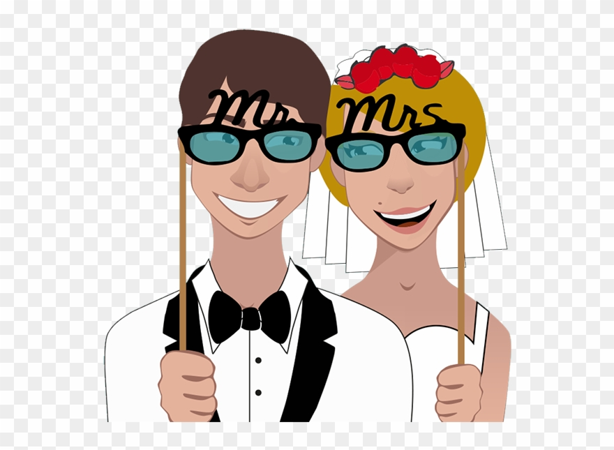 Graphic Freeuse Library Booth Clipart Marriage.