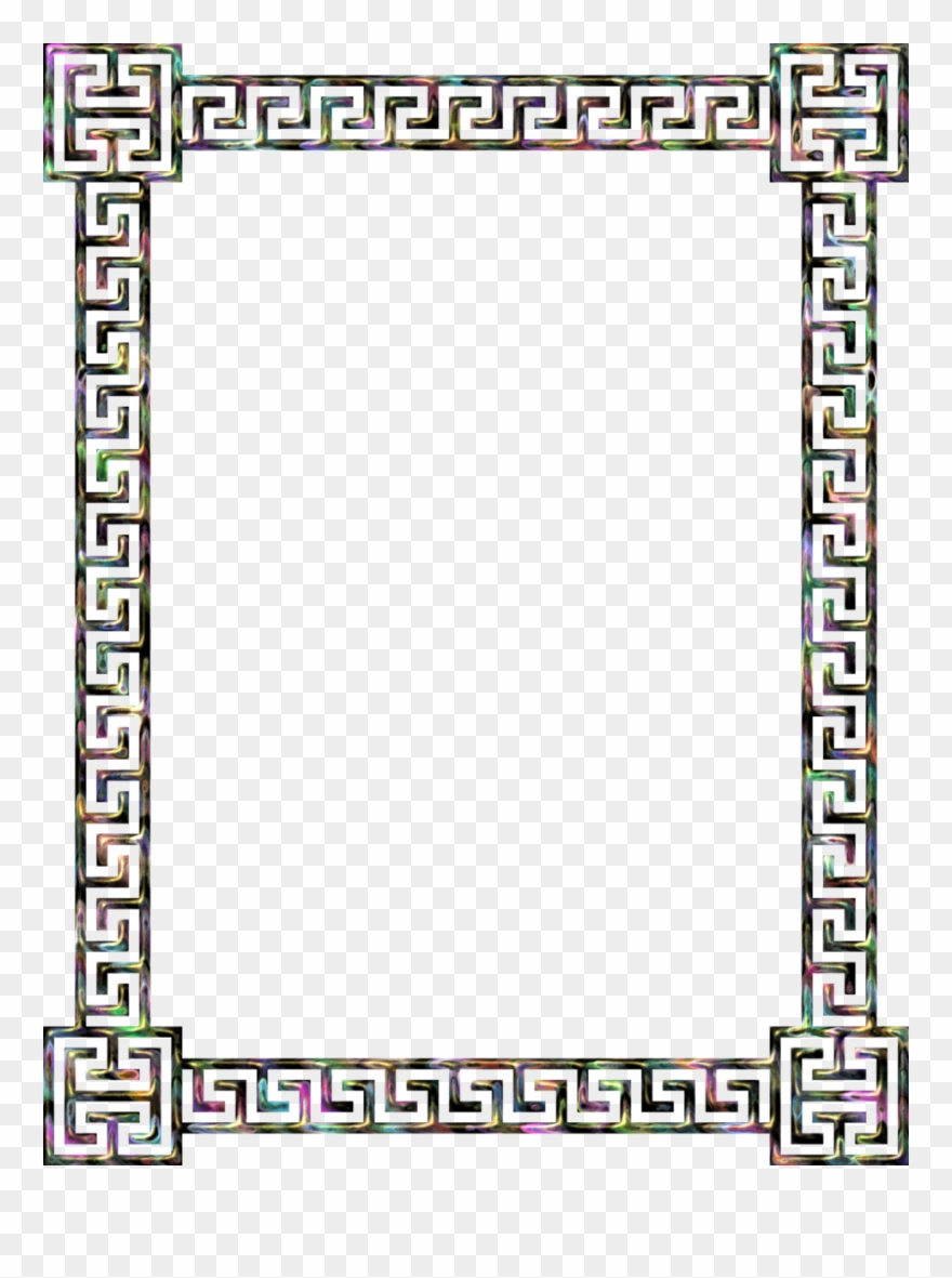Greek Border Clip Art Clipart Borders And Frames Meander.