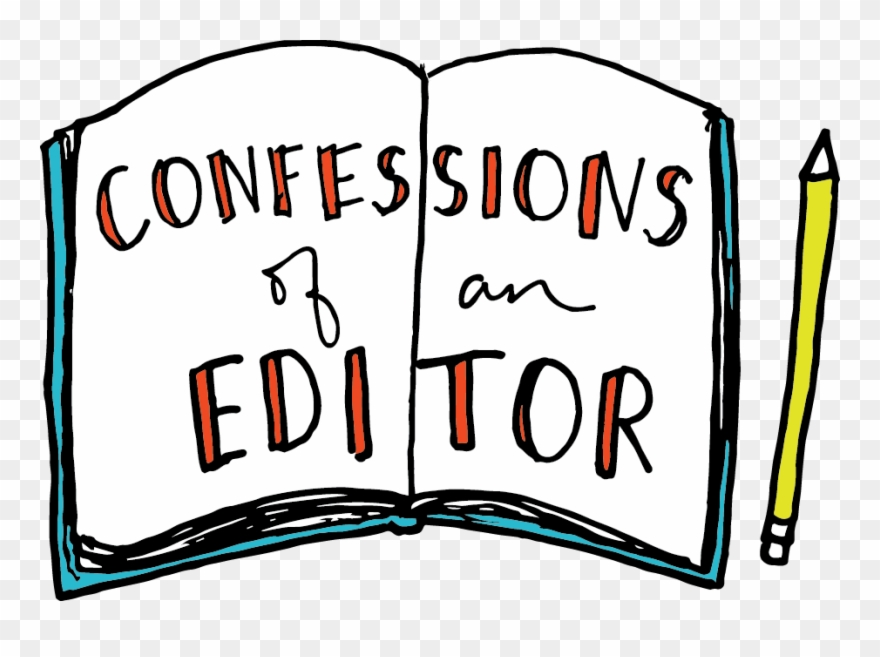Confessions Of An Editor Clipart (#2247602).