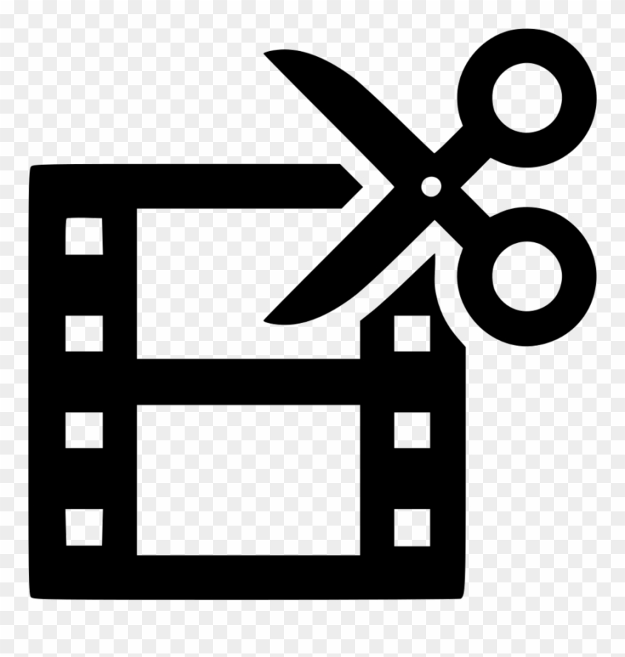 Film Edit Icon Clipart Video Film Editing.