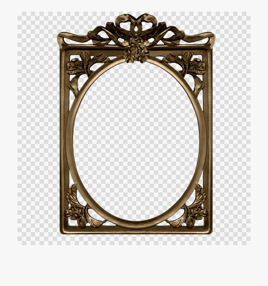 Clip Art Gold Frame Clipart Graphic Frames Picture.