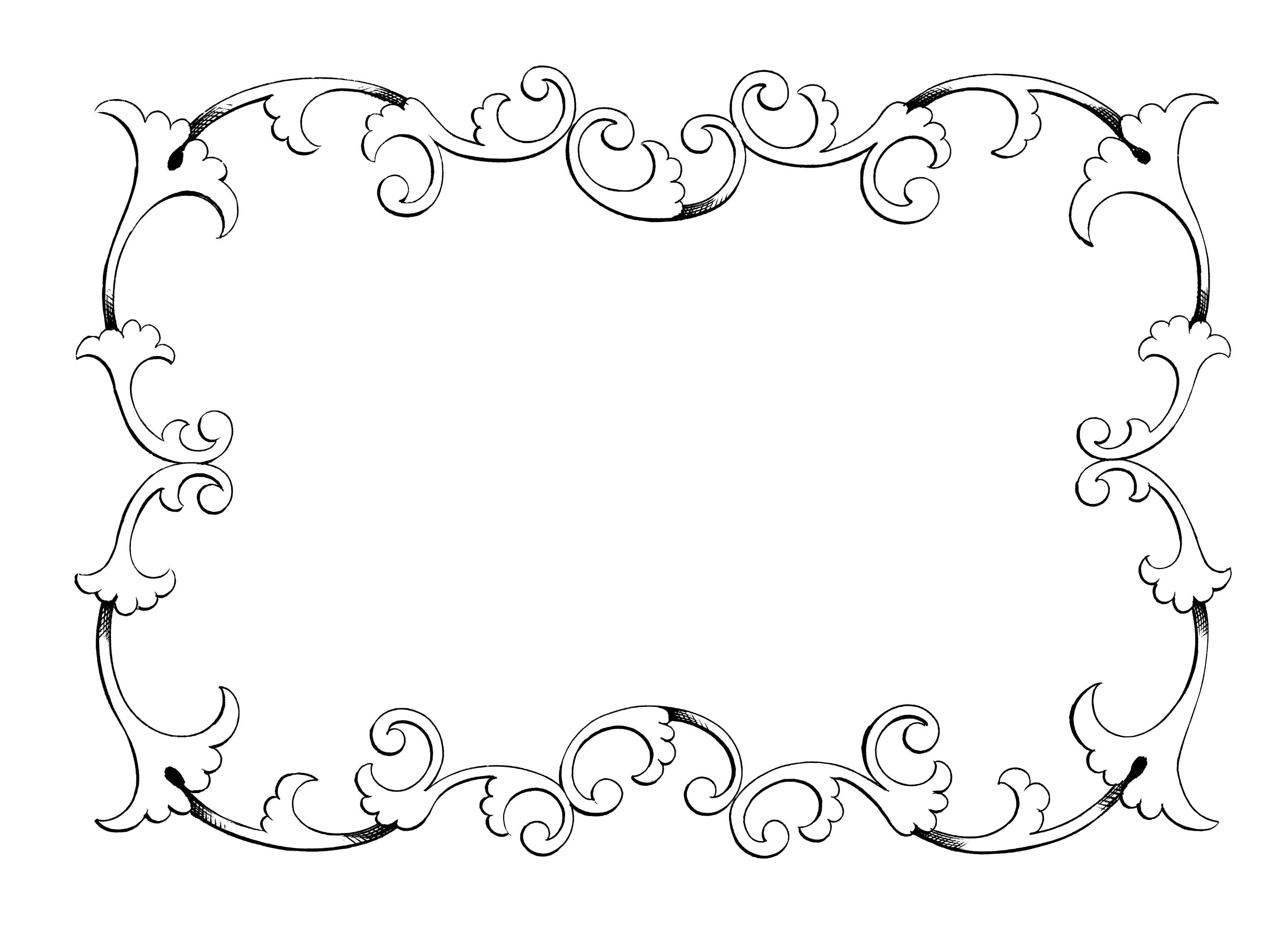 Clipart frames free caicdvrlistscom 3.