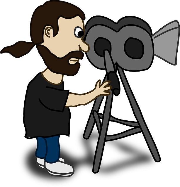 Hollywood clipart movie maker, Hollywood movie maker.