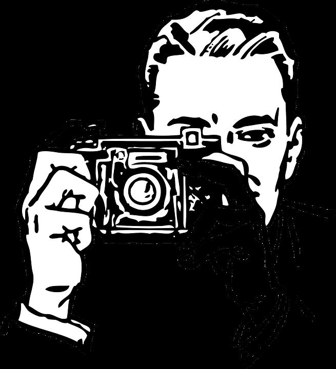 Photographer Man Taking.