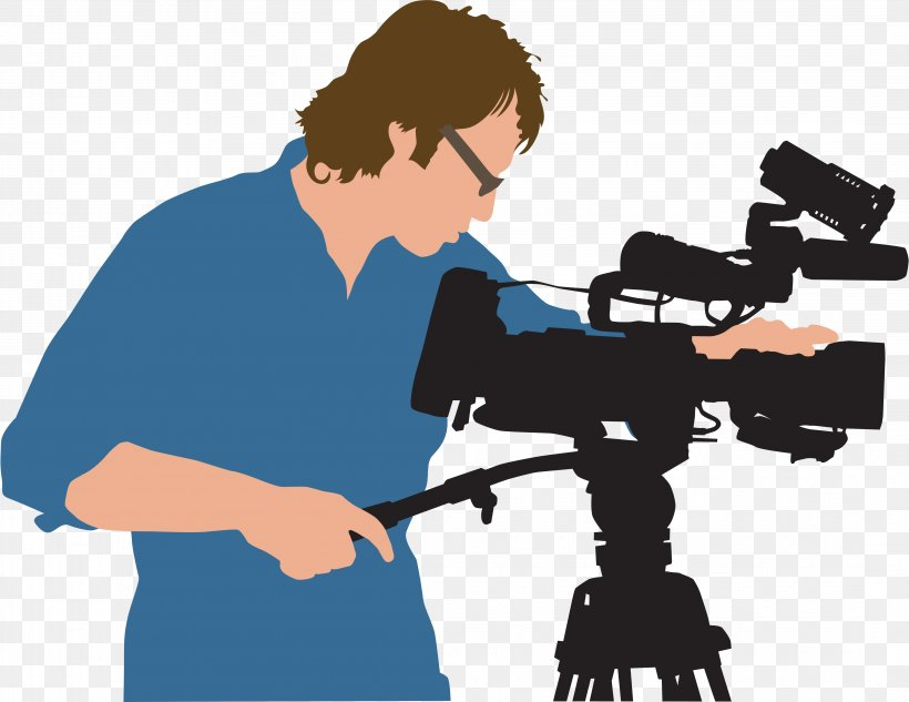 Camera Operator Photography Clip Art, PNG, 4328x3342px.