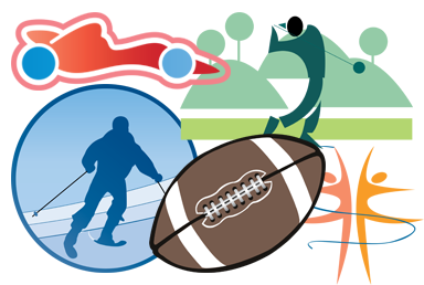 Sports Art Clipart.