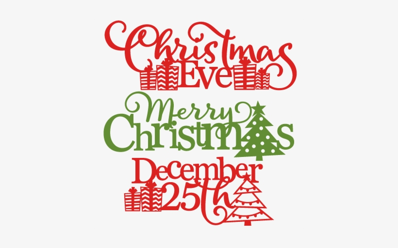 Christmas Phrases Svg Scrapbook Cut File Cute Clipart.