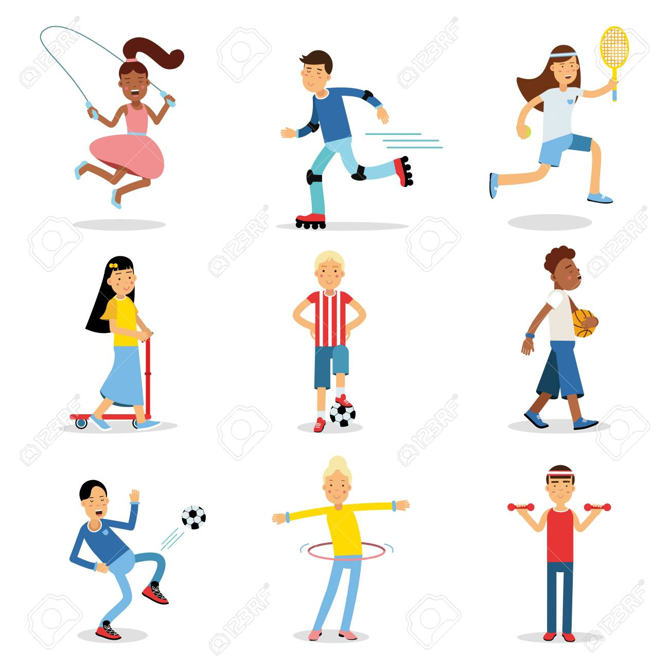 Physical Activity Clipart Free Download Clip Art.