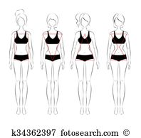 Physical appearance Clipart Illustrations. 39 physical appearance.