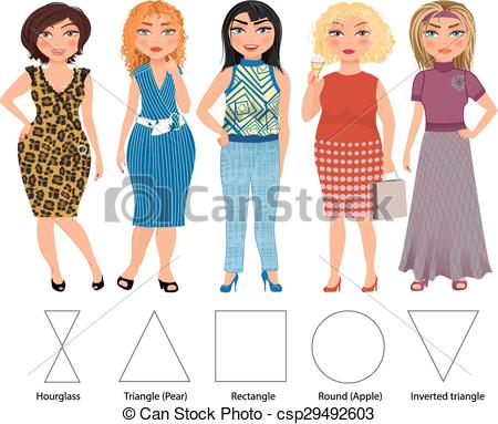 Vector Clipart of Everyday clothes.