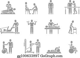 Physical Therapy Clip Art.