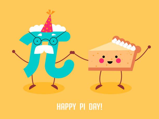 Best Pi Day Illustrations, Royalty.