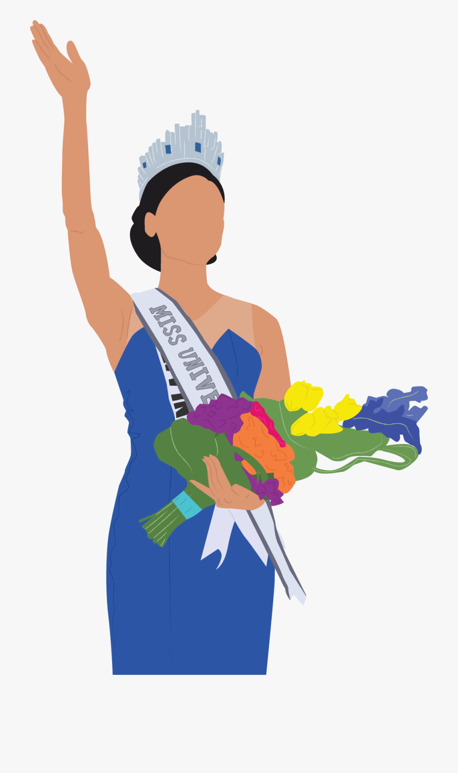 Pia Wurtzbach Is Rightfully Crowned Miss Universe.