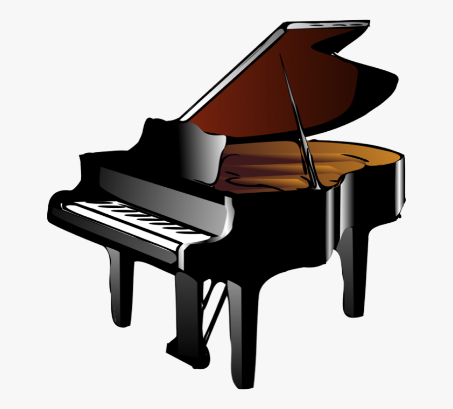 Keyboard And Piano Clipart.