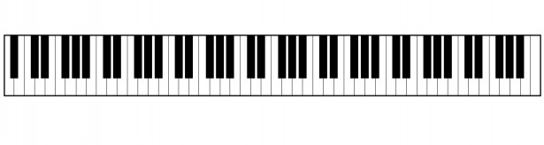 Piano Keyboard Clipart Free Stock Photo.