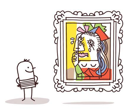 1,112 Picasso Art Stock Illustrations, Cliparts And Royalty Free.