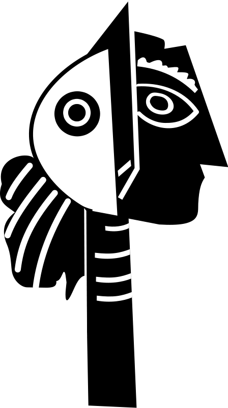 Free Clipart: Picasso sculpture.