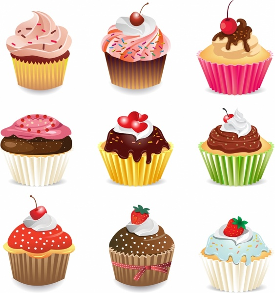 Download free clipart cupcake images free vector download (3,164.