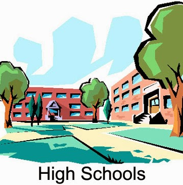 High School Building Clipart.