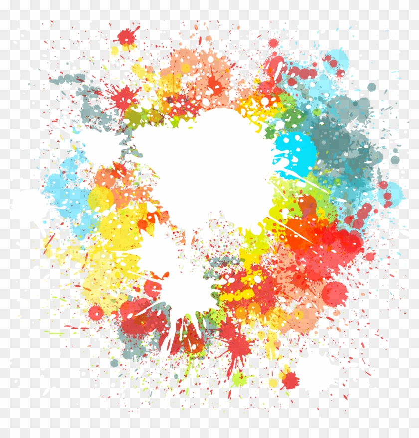 Color Paint Happy Holi Ink Download Hd Png Clipart.