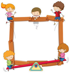 Kids Frame Clipart Vector Images (over 260).