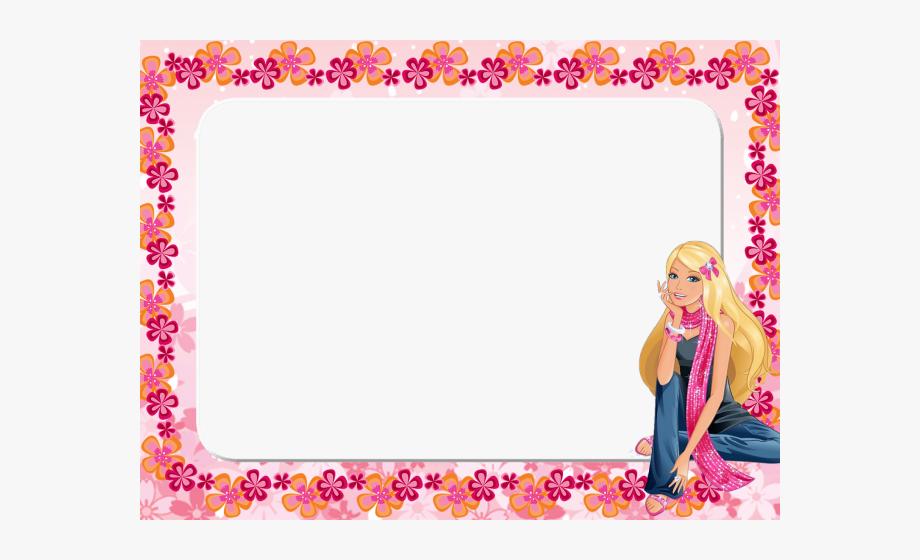 Barbie Clipart Frame.