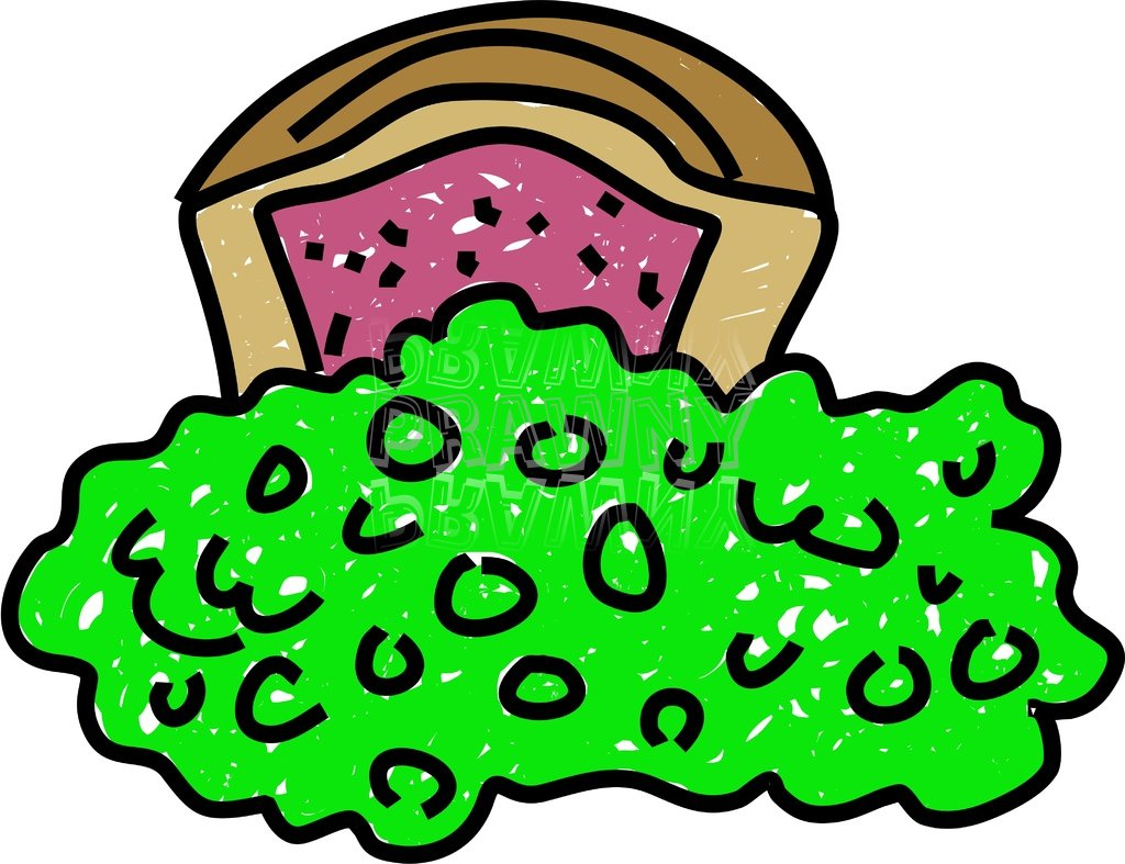 Clipart Picture Mushy Food.