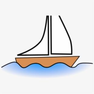Marina Clipart Boat Sailing.