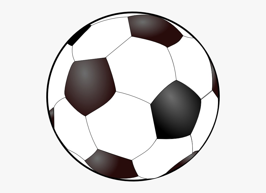 Soccer Ball Clip Art Free Vector In Open Office Drawing.