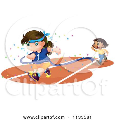 Showing post & media for Cartoon girl running track.