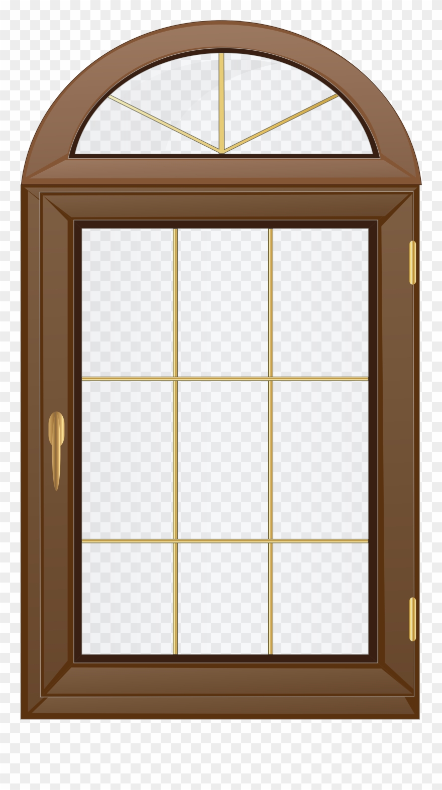 Gingerbread Clipart Window.