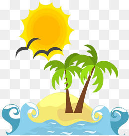 Cartoon Island, Cartoon Clipart, Island #72331.