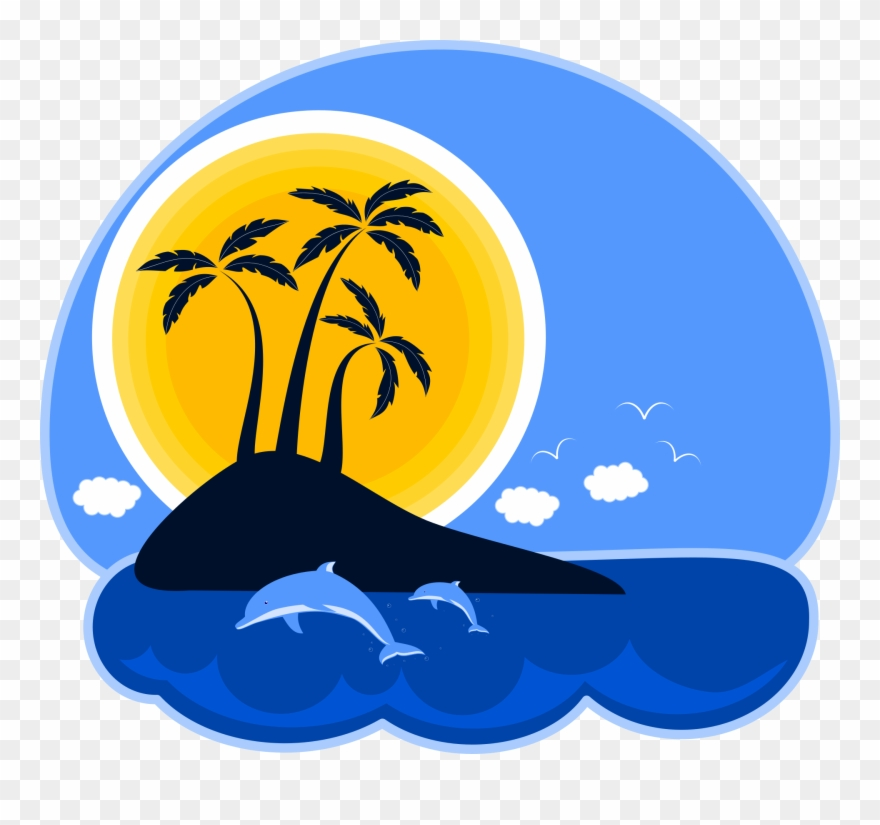Tropical Island Clipart Png Graphic Royalty Free Library.