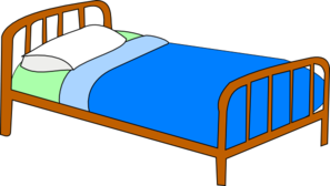 Free Clipart Bed.