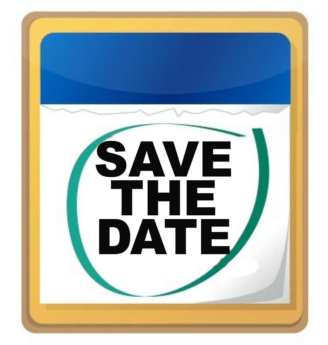 Save The Date Free Clip Art.