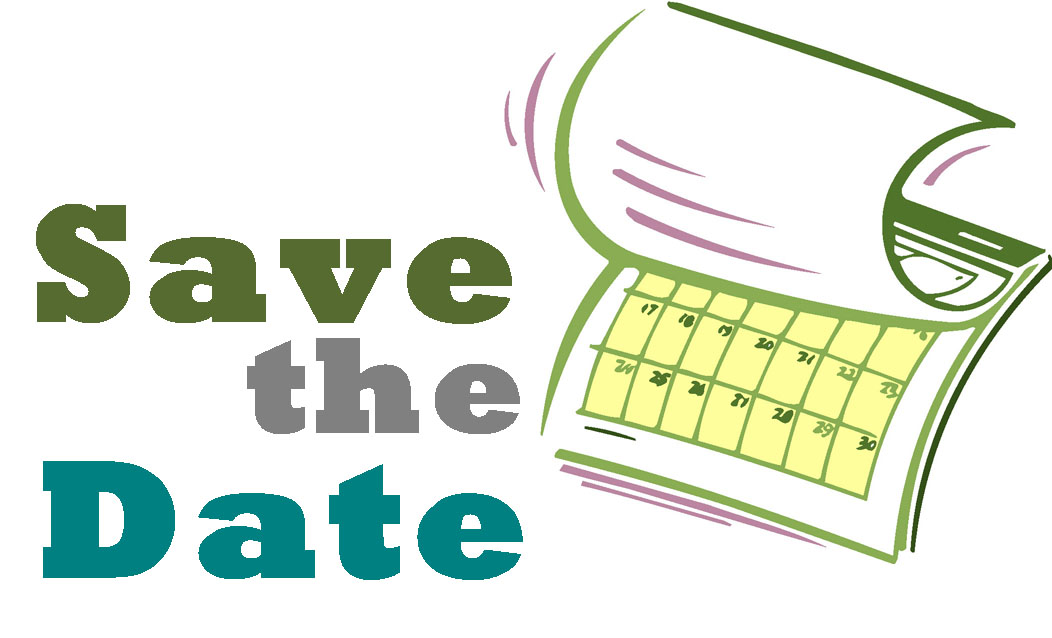 Save The Date Calendar Clipart.
