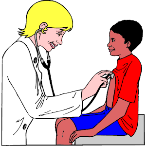 Doctor & Patient clipart, cliparts of Doctor & Patient free.