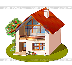 Clipart Picture Of House.