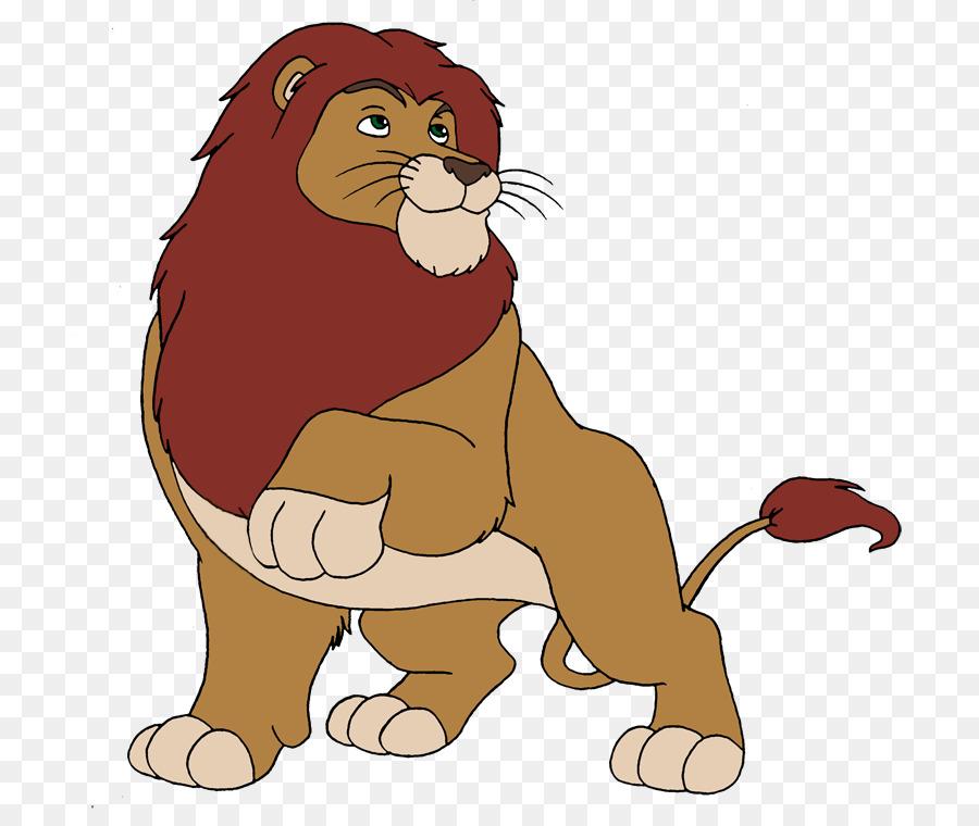 Lion Cartoon clipart.