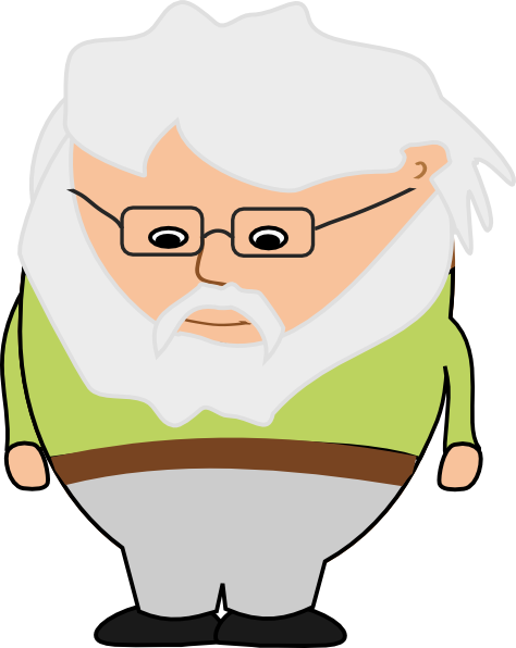 Free Old Man Clipart.