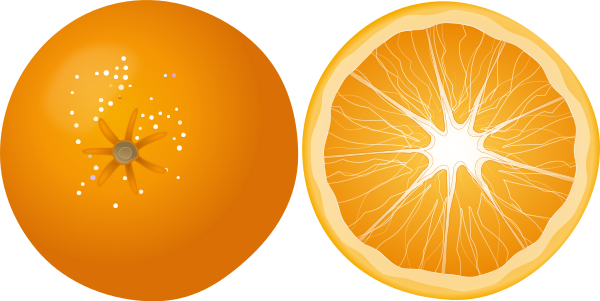 Orange clipart #OrangeClipart, Fruit clip art photo.