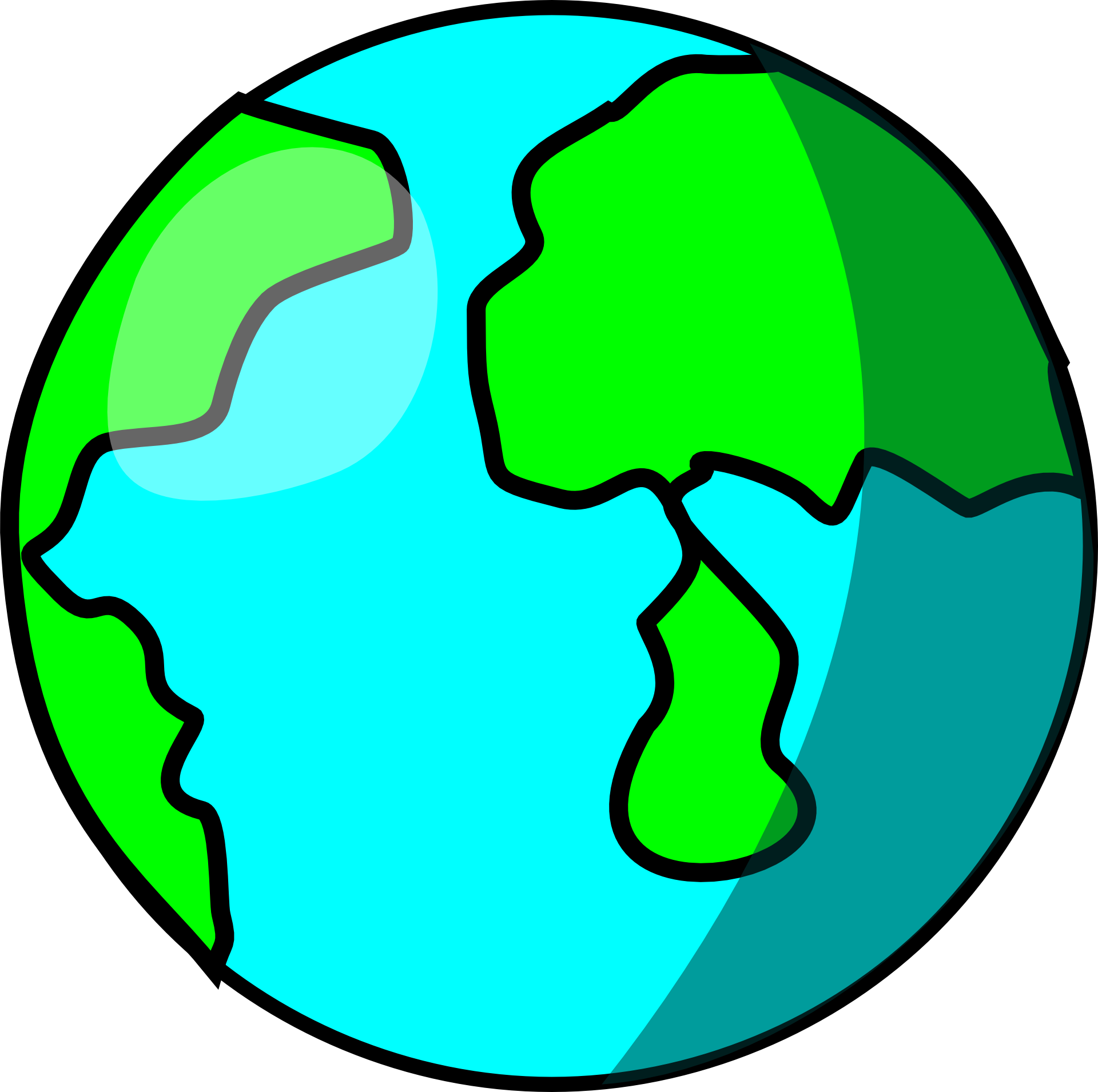 Clipart of the earth free image.