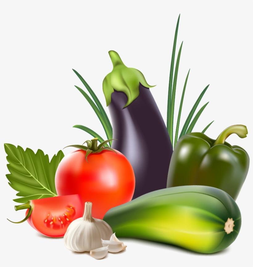 Clipart Vegetables Silhouette.